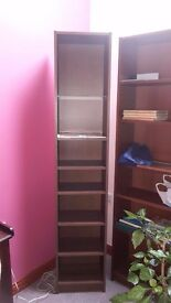 Handy slim IKEA Billy bookshelf, fantastic condition