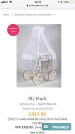 Baby Crib Wicker