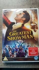 The Greatest Showman DVD - brand new in original packaging