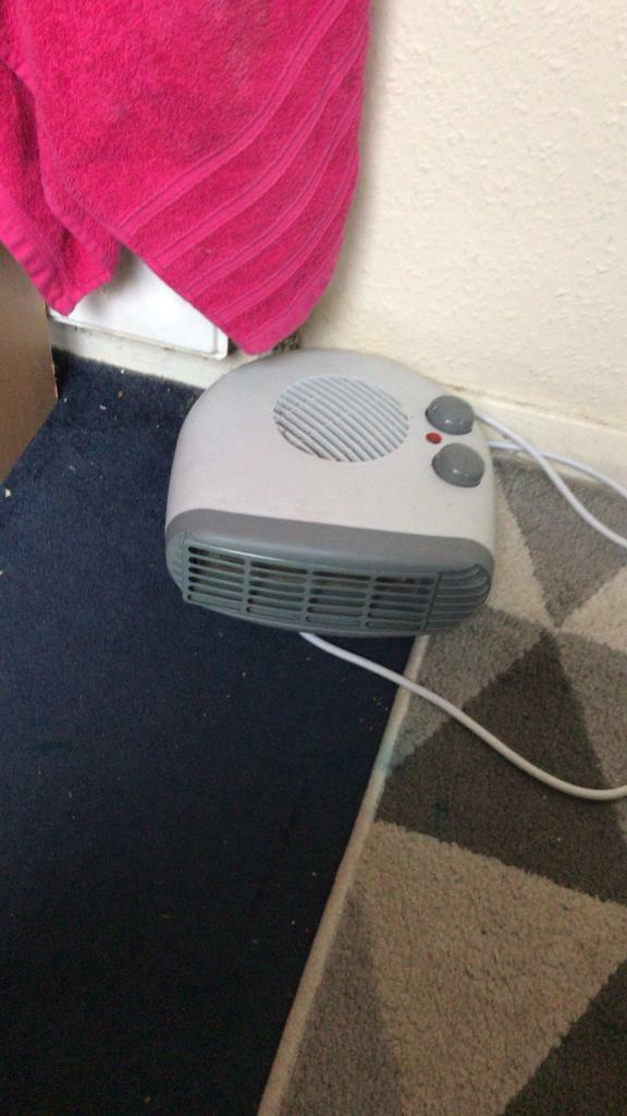 Heater with hot and cold option