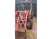 tractor with loader international