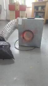 Extractor industrial fan