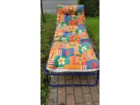 Relaxing and Colourful Sun Lounger - multi positions