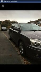 Toyota avensis. ..excellent condition