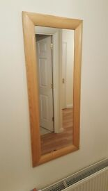 Mirror (pine surround)