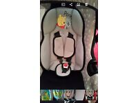 Car seat in immaculate condition