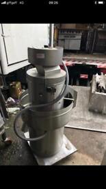 3 phase heavy duty potato peeler machine commercial catering kitchen equipment restaurant fish shop