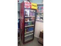 Coca cola drinks fridge
