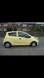 chevrolet spark 63 plate 13885 millage