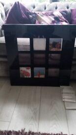 Perspex photo frame