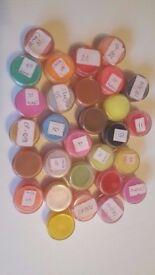 29 colours acrylic powder NAIL ART