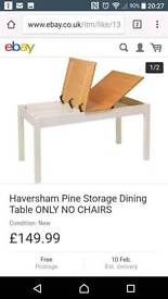 Pine dining table new