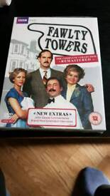 FAWLTY TOWERS THE COMPLETE SERIES DVD BOX SET NEW AND SEALED