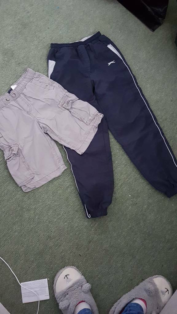 Boys shorts and joggers age 9