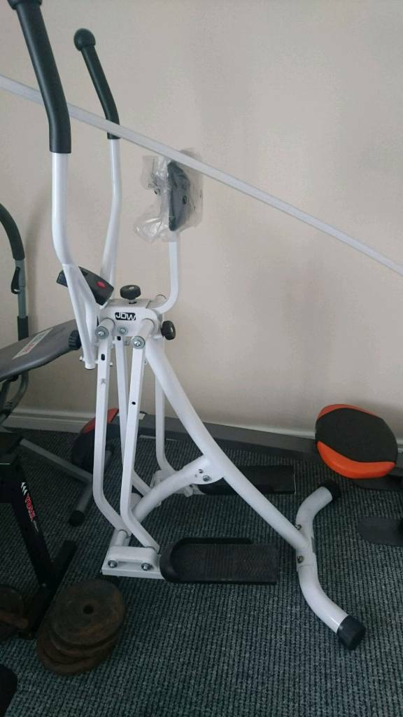 Cross Trainer (fitness/cardioin Portadown, County ArmaghGumtree - Cross trainer never used idea for home exercise to get fitness up or loss weight etc working perfect still some plastic on itCollection in Portadown onlyMay accept offer