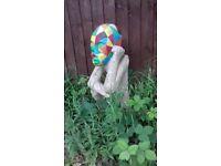 Designed garden statue
