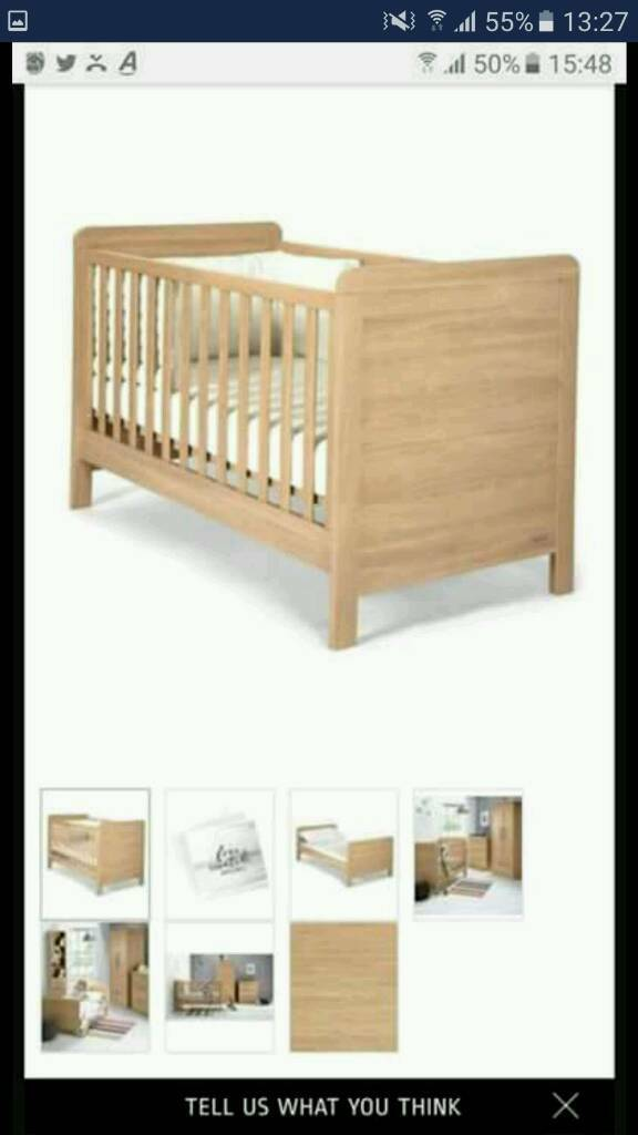 Mamas And Papas Rialto Cot Cotbed In Newcastle Tyne And Wear