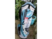 SET OF WILSON CLUBS WITH BRAND NEW WILSON BAG