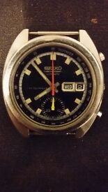 selling very rare and excellent seiko chronograph 6139-6010 early 70´s