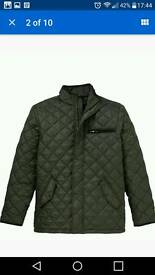 Mens quilted jacket new with tag
