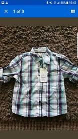 brand new boys ted baker shirt 9-12mths