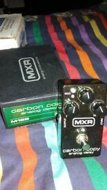 MINT CONDITION MXR CARBON COPY DELAY. DELAY FX PEDAL GUITAR