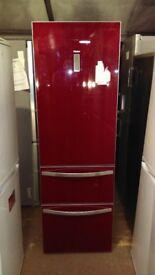 HAIER fridge freezer red