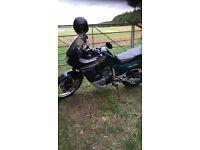 HONDA TRANSALP 600V / green YEAR 1999
