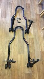 Motorcycle paddock stands