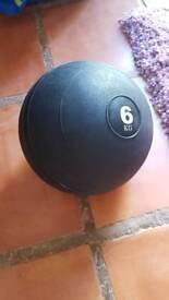 Medicine ball 6kgs