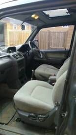Off-road Monster completely refurbished Mitsubishi Pajero 2.5L