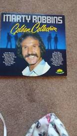 Marty Robbins golden collection vinyl LP