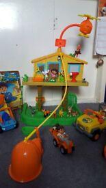 ( Collection 5 ) Fisher-Price Go Diego Go & Dora Toys