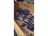 Audi a4 s4 lowering springs brand new cost £230 sell £100 ono