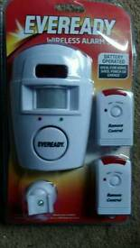 Eveready wireless alarm set