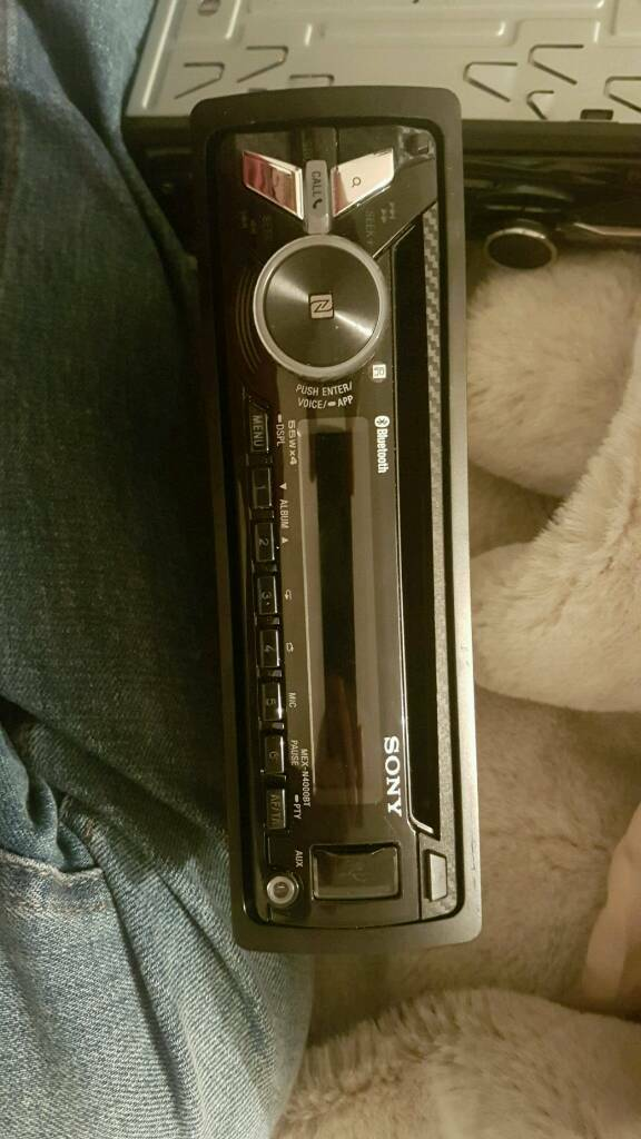 Car stereo sony mex n 4000bt in leicester leicestershire gumtree car stereo sony mex n 4000bt publicscrutiny Images
