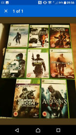 JOBLOT XBOX 360 GAMES GREAT CONDITION ALL WITH BOXES AND INSTRUCTIONS