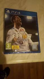 FIFA 18 - PS4 - BRAND NEW IN PLASTIC
