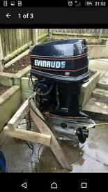 115hp v4 evinrude outboard boat engine
