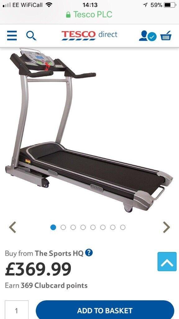 Confidence TXI Heavy Duty Treadmill
