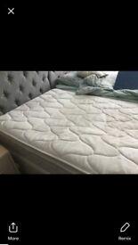 Single divan bed excellent condition
