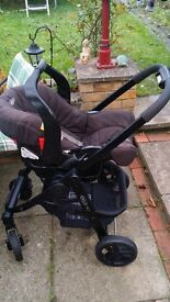 Graco Pram inc car seat