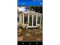 Dismantle a conservatory