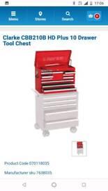 Clarke hd plus tool box top box