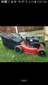 Lawnmower for rent