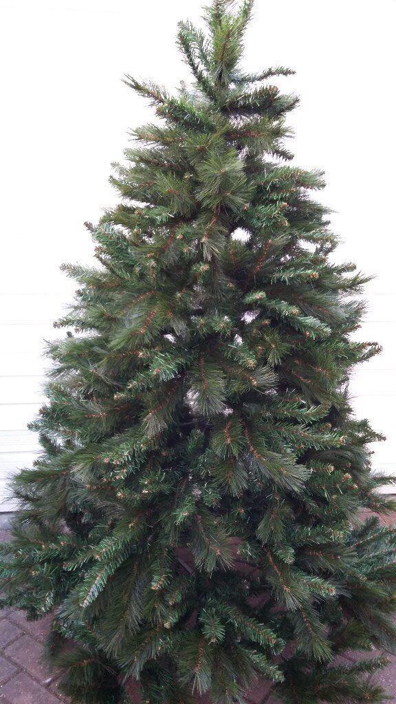 Garden Ridge Christmas Trees.Christmas Tree 6ft Rocky Ridge Pine Hooked Branches Folding Stand In Halesowen West Midlands Gumtree