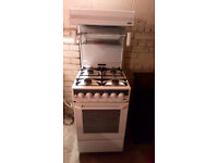 NEW WORLD HIGH LEVEL GAS COOKER COMPLETE WITH GAS PIPE VIEWING WELCOME