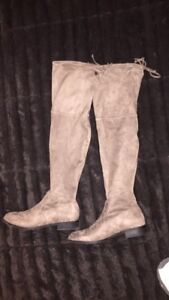 GUESS - above the knee suede boots - NEVER WORN