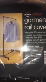 2 x hanging rail covers - BNIP