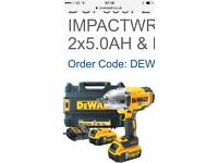 Dewault 18v impact wrench